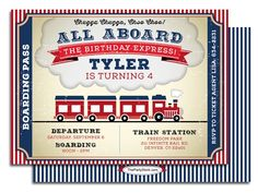 train birthday invitations with picture birthday invitations