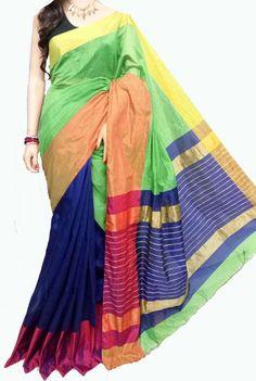 Buy Multicolor Handloom Cotton Silk Saree-prod_Cw35.jpg