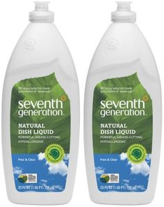Target: Seventh Generation Dish Soap 25oz Only $0.89!