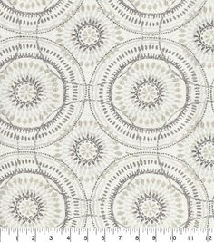 Kelly Ripa Home Upholstery Fabric 54\u0027\u0027-Oyster Spiral Graph,