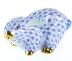 Herend Bunny..available at #binns of Williamsburg