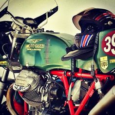 #motoguzzi #vintage color and #style.