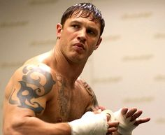 Photo: Tom Hardy in Warrior.  News: Tom Hardy in talks to star as British mountain climber George Mallory in Everest.