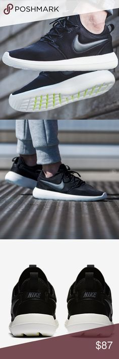 ✨🆕✨{Nike} Black Roshe Two Women's size 8. Super cute and go with any outfits. Good for running, training....Brand new in box, never been worn. Price is firm.   ❌ NO TRADES - SELLING ON POSH ONLY ❌ ❌ NO LOWBALLING ❌  ✅ Bundle Discounts ✅ Ship Next Day of Purchase  💯 % AUTHENTIC Nike Shoes