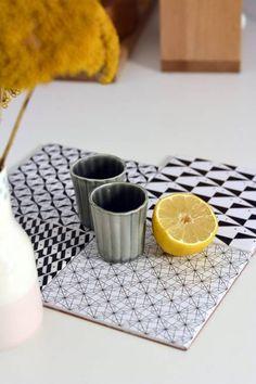 Domino by Emma Caron sticker carrelage carreaux ciment