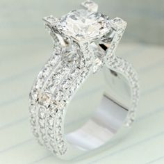 Would you wear this gorgeous diamond ring?