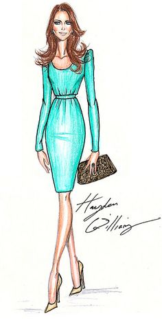 Princess Kate - Kate Middleton wears a dress by Hayden Williams by Fashion_Luva, via Flickr