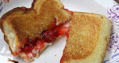 Cherry Cream Cheese Pie Iron Recipe - ooey gooey goodness! #dessert #camping