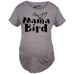 Mama Bird Funny Maternity Shirts for Pregnant Moms   #maternity#momlife#soontobemom#pregs#pregnancy#pregnant#namaste#mom's#cutetshirts#cutepregnancytees#pregnancytee#pregnancytees#mama#baby#funny#funnymaternity#maternitytshirts#momtshirts#babymoon#pregnancytshirts#pregnancyhumor#moms#mom#beingpregnant#sopregnant#knockedup#mamabird