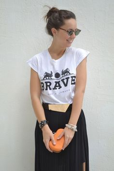 How to style black and white in your outfit : MartaBarcelonaStyle's Blog
