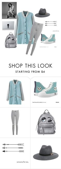 """""""Untitled #1312"""" by doinacrazy ❤ liked on Polyvore featuring J Brand, Chiara Ferragni and Bebe"""