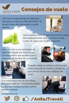 Tomá en cuenta algunos consejos para hacer de tu vuelo algo mas agradable, #SalíYViajá