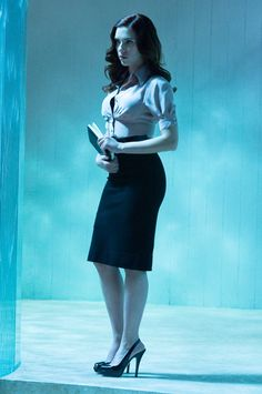 Scarlett Johansson in Iron Man 2--Can I steal her whole wardrobe?