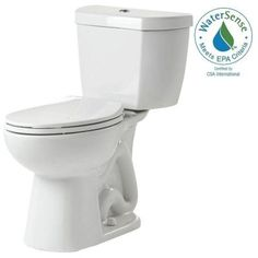 c45ae74631 Niagara 2-piece 0.8 GPF Ultra-High-Efficiency Single Flush Elongated Toilet  Featuring. The Home Depot
