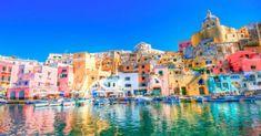 Procida, Nápoles, Italia, las más coloridas ciudades del mundo