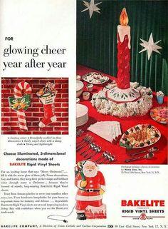 Vintage Bakelite Christmas decor