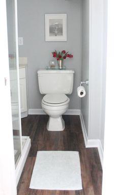 $40 Easy & inexpensive bathroom remodel