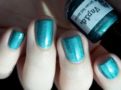 Catch me if you can, Vapid artisan nail lacquer, teal, nail polish, swatch, vernis à ongles