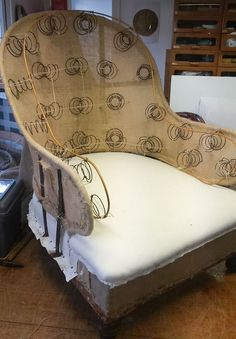 The Iron Back Chair by Armand Verdier: Part 1   ModHomeEc