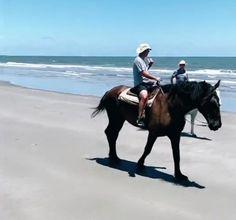 Noah riding a horse 💘