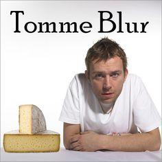 Une célébrité, un jeu de mots et une photo.  Parce qu'on y pense souvent et puis qu'après on oublie : il y a Tomme Blur.
