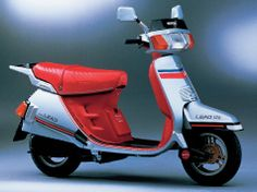 Vespa, made in japan. Honda Lead 125 cc
