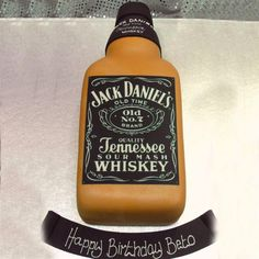 Jack Daniels Birthday Cake From The Cakeshop