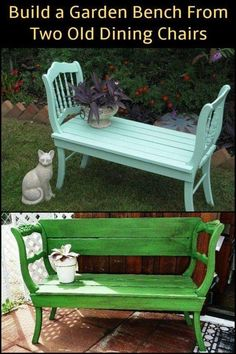 Inspired to make your own garden bench? - Inspired to make your own garden bench? - Tess Sy Inspired to make your own garden bench? Inspired to make your own garden bench?
