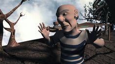 Dos genios en el paraíso de las artes. Dalí y Picasso. Cortometraje de animación 3D realizado por alumnos de CICE, Escuela Profesional de Nuevas Tecnologías....