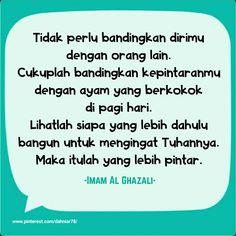 Jangan bandingkan dirimu dengan orang lain Islamic Quotes, Allah, Abs, Inspirational Quotes, Board, Beauty, Life Coach Quotes, Crunches, Inspiring Quotes