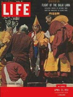 "Dalai Lama - Life Magazine, April 23, 1951 - Visit http://oldlifemagazines.com/the-1950s/1951/april-23-1951-life-magazine.html to purchase this issue of Life Magazine. Enter ""pinterest"" for a 12% discount at checkout - Dalai Lama"