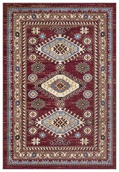 Bohemian Design, Boho, Square Rugs, Transitional Rugs, Tribal Patterns, Rectangular Rugs, Rug Shapes, Red Rugs, Traditional Design