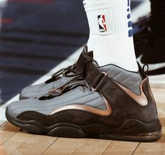 """9831a4e0b9b5 The Nike Air Penny IV in the """"Copper"""" colorway!"""