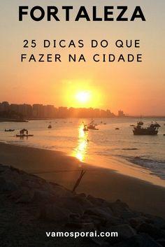 Viagem marcada para Fortaleza? Coloque no seu roteiro assistir ao por do sol no Mercado dos Peixes, conhecer o Teatro José de Alencar, ir ao Beach Park e muito mais. #fortaleza #praiasdobrasil #dicasdeviagem #brasil #pordosol