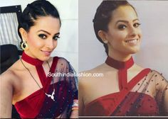 Shagun / Anita Hassanandini Sarees and Blouse Designs in Yei Hai Mohabbatein, YHM Shaguna sarees, Shagun Blouse Designs, online shopping Saree Jacket Designs, Choli Designs, Sari Blouse Designs, Fancy Blouse Designs, Blouse Patterns, Saree Gown, Saree Blouse, Sleeveless Blouse, Peplum