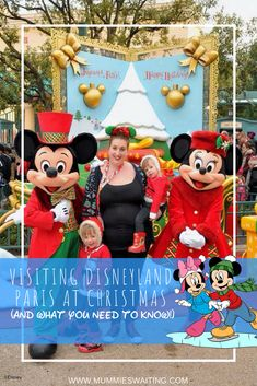 I've been very fortunate to have visited Disneyland Paris and Walt Disney World of the Christmas season quite a few times in my life. Most recently was when we took the girls to Disneyland Paris… Disney World Birthday, World Disney, Disney World Characters, Disney World Vacation, Disney Vacations, Disney Travel, Disney Resorts, Family Vacations, Disney Parks