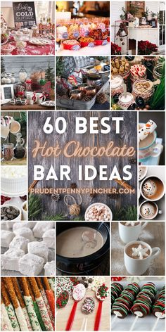 Keep your christmas party guests warm this winter with one of these creative hot chocolate bars. There are not only ideas for hot cocoa bars, but there are also hot chocolate recipes and hot chocolate topping ideas. These hot chocolate bar ideas will look great in your christmas kitchen! Hot Chocolate Bars, Hot Chocolate Toppings, Chocolate Party, Hot Chocolate Recipes, Cheap Christmas, Christmas Kitchen, Hot Coco Bar, Holiday Drinks, Holiday Ideas