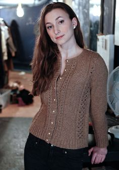 Taina Cardigan in Berroco Flicker Aran. Discover more Patterns by Berroco at LoveKnitting. The world's largest range of knitting supplies - we stock patterns, yarn, needles and books from all of your favorite brands.