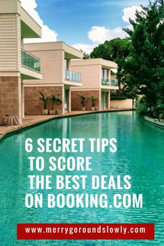 You think you know everything about booking your accommodation on Booking.com? I'm sure you can still learn a couple of tricks to get better and cheaper deals!  Hotels | Hostels | Booking | Accommodations | AirBnb | Cheap Hotels |  Cheap Hostels |  Luxury Hotels |  Unique Hotels | Boutique Hotels | Hotel Deals | Secret Tips |  Budget Travel | Travel Tips #hotels #booking #accommodation