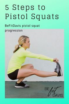 to a pistol squat successfully performing a pistol squat takes quite a bit of mobility, balance, and strength that doesn't generally come naturally to the average person. but there are so many exercises and ways to gradually progress to being able Leg Day Workouts, Easy Workouts, At Home Workouts, Pistol Squat Progression, Faire Des Squats, Squat Challenge, Workout Session, Strength Workout, How To Run Faster