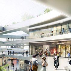 2014348e151d8e Conceptual shopping centre at East Harbour