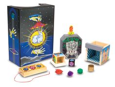 Melissa Doug Discovery Magic Set - - Melissa & Doug Discovery Magic Set Amaze your friendsEasy to learnStores neatly in wooden boxRecommended Age Range 6 Years and up Hand Tricks, Magic Tricks, Magic Sets, Magic Box, Easy Magic, Discovery Toys, Fabric Balls, Sword In The Stone, Melissa & Doug