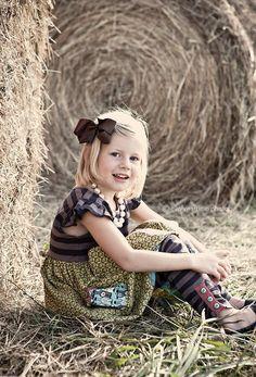 I Love Hay Bale Photography!