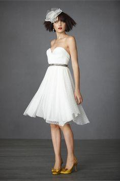 tony bowls strapless white butterfly print dress | vastkid.