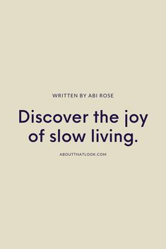 There's a movement gaining momentum that allows us to take back control of what's ours. It's called slow living and when harnessed correctly, it can lead to a more fulfilling, wellness-focused existence. Here's how you can cultivate your very own life slow lived.  #slowliving #mindfulness #lifestyle