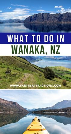 Planning a trip to Wanaka, NZ? Here's your ultimate Wanaka travel guide with the best things to do in Wanaka that you'll love! Discover what to do in Wanaka and why you should visit Wanaka as soon as possible from this article. Read it now. Wanaka New Zealand, New Zealand Beach, Visit New Zealand, New Zealand Itinerary, New Zealand Travel Guide, New Zealand Adventure, Lake Wanaka, Travel Guides, Travel Tips