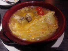 ブイヤベース (Bouillabaisse) [gigasから新名物登場です。魚介の旨みたっぷりのブイヤベースをお楽しみください。  -gigas特製 オイスターブイヤベース ¥1,554 [広島産の大粒の牡蠣を使用。]