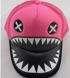 2014 han edition of the spring and autumn period and the new children's baseball mesh hat Opens the mouth to mouth shark hip-hop, View fashion hat, HFHW Product Details from Hefei Badge Service Trade Co., Ltd. on Alibaba.com