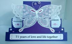 AnjiKrafts: 'Nothing fancy' Anniversary card