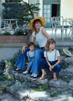 Birkin and her children
